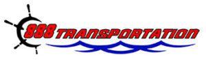 888 transportation logo